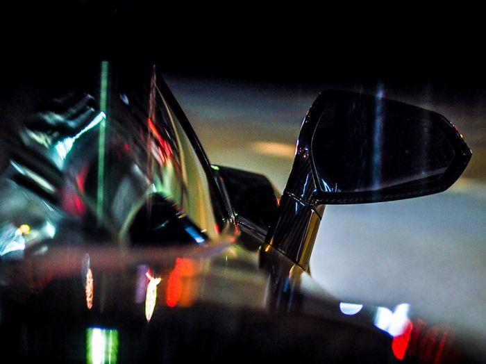 Cars Carsofeyeem Olympus OM-D E-M5 Mk.II Olympus Urban Reflections Urban Geometry Urbanphotography Reflection City Lights At Night City Arts Culture And Entertainment Close-up Transportation Land Vehicle No People Indoors  Night Illuminated