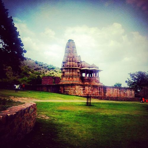Bhangarh Fort Temple The Haunted Palace Noon Pic Greenery Garden EyeEm Selects