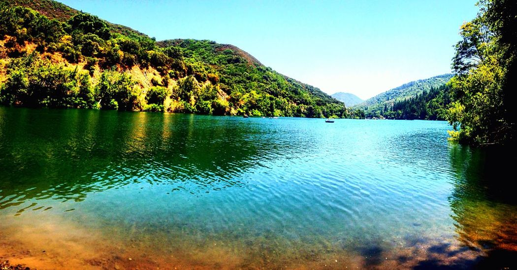 Blue Lakes Enhanced Serenity Piece Of Time Colour Of Life