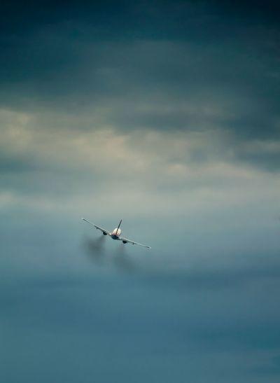 Plane taking