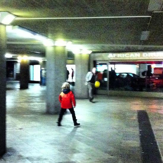 #Fußball unterm Ebertplatz