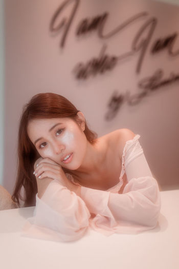 blush o'clock Portrait Of A Woman Portrait Photography Pastel Power Pastel Pastels Dream Dreamy Pink Pink Color Adult One Woman Only Young Adult Only Women Adults Only One Person Portrait One Young Woman Only Relaxation Beauty Beautiful Woman