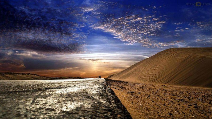 Cloud - Sky Adventure Desert Nature Road Beauty In Nature Sand Dune