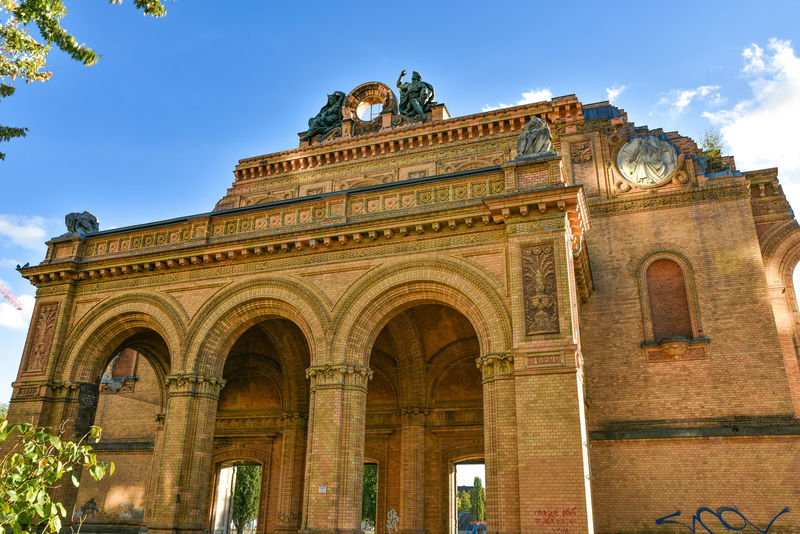 Anhalter Bahnhof Arch Architectural Column Architecture Building Façade No People Old Ornate The Past Train Station World War 2 Ruins