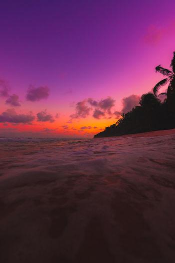 Tulum beach at