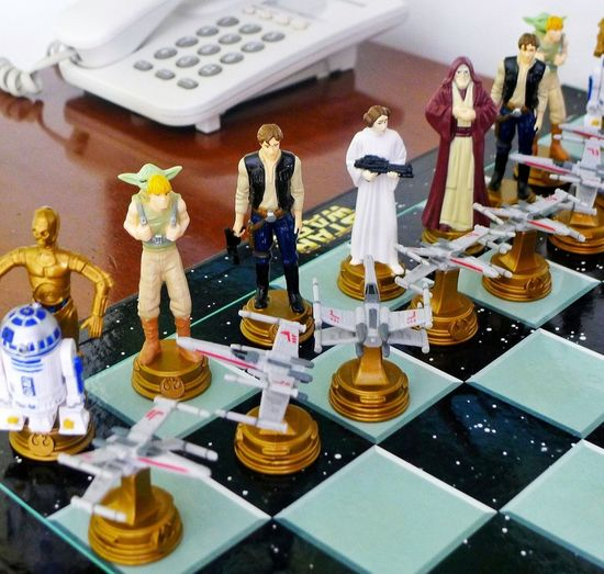 Chess Star Wars Game Day