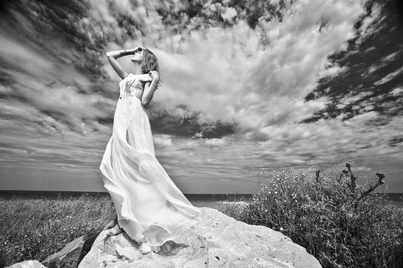 Tree Cloud - Sky Nature Outdoors Dramatic Sky Storm Cloud Beauty In Nature Sky Day Women Model Life Well-dressed Desinger Dresses Elégance One Person Fashion Model Dressed To Impress Magazine Beauty Glamour Full Length Fashion Nature On Your Doorstep Naturephotography