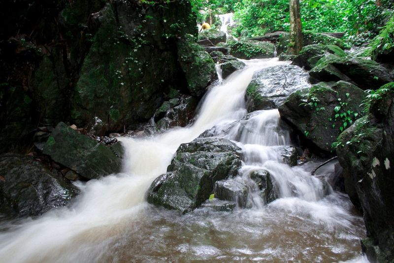 Adventure time Khundanprakanchon Nakronnayok Thailand Water Motion Beauty In Nature Plant Long Exposure Waterfall Scenics - Nature Flowing Water Nature No People Flowing Day Tree