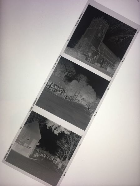 120 Film Medium Format Black & White Film Photography Christchurch Christchurch Priory Kodak T-max 400