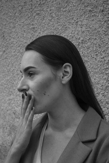 Ups Young Women Beautiful Woman Headshot Beauty Women Close-up Human Lips Human Nose Chin Head And Shoulders Pretty