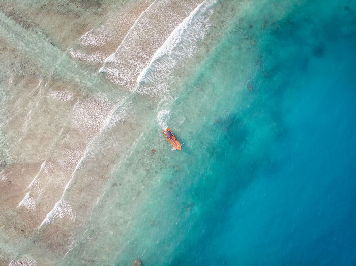 ASIA Perhentian Island Aerial View Boat High Angle View Holiday Malaysia Nature Ocean Outdoors Scenics - Nature Sea Terengganu Trip Turquoise Colored Vacations Water