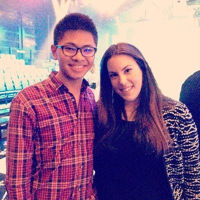 marykatrantzou and I. She's truly amazing!