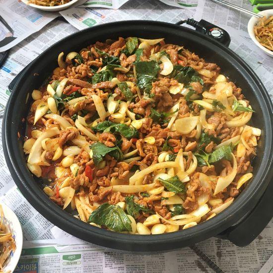 Korean Food Duck Meat