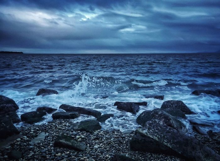 The KIOMI Collection Beach Photography Waves, Ocean, Nature Blue Wave