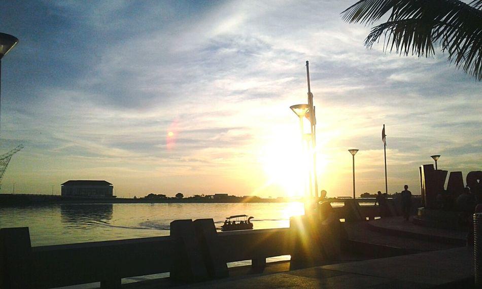 Neighborhood Map Makassar-Indonesia INDONESIA Makassar-south Sulawesi-indonesia Makassarcity Senja  Sunset Outdoors Beauty In Nature