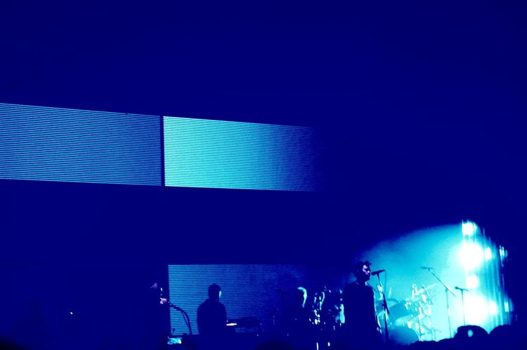 Massive Attack concert in Tempodrom, Berlin. Art Artist Awesome Band Berlin Blue Concert Cool EyeEm Best Shots Geometric Shapes Lights Massive Attack Music Singer  Taking Photos Learn & Shoot: After Dark Things I Like