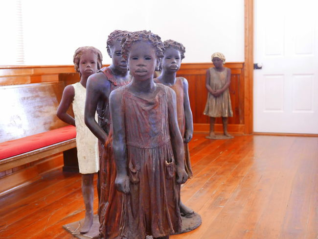 Childhood Human Representation New Orleans People Statue Whitney Plantation
