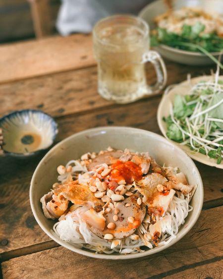 Vietnamese spicy vermicelli