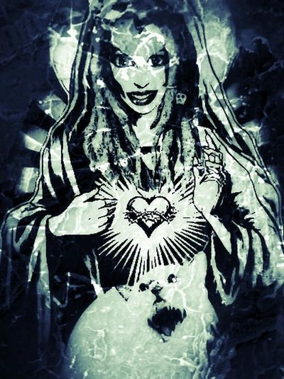 Art Cat Vamp Lilly