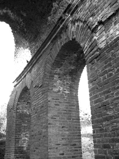 Teatro Antico Di Taormina Old Ruin Stone Wall Black And White Photography Sicily Outdoors History Architecture Building Exterior Exterior Wall Ruined Taormina And Etna Medieval The Past Built Structure Stone Material Arch Fortified Wall