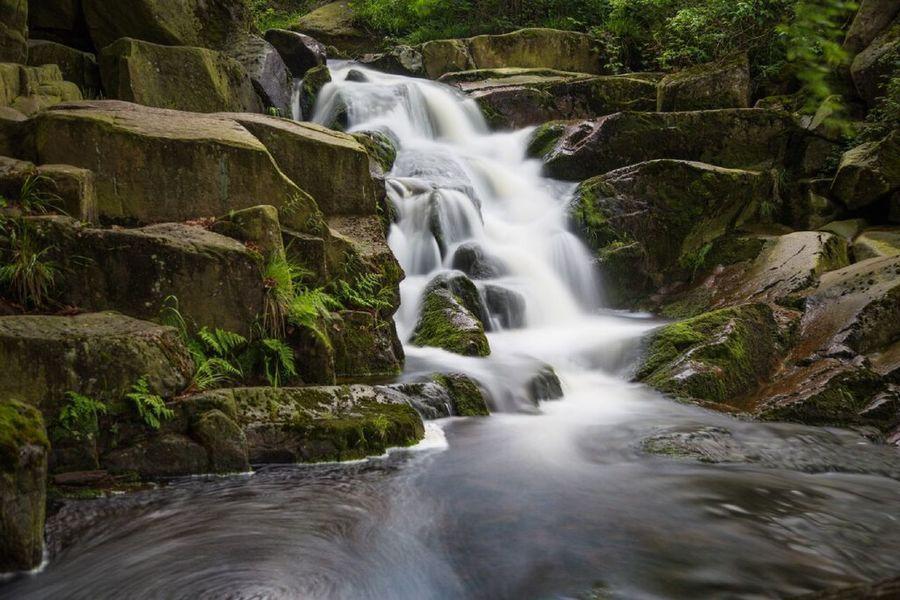 Ilsefälle Ilsetal Langzeitbelichtung Harz Waterfall Water Travel Destinations Scenics Tourism No People Vacations