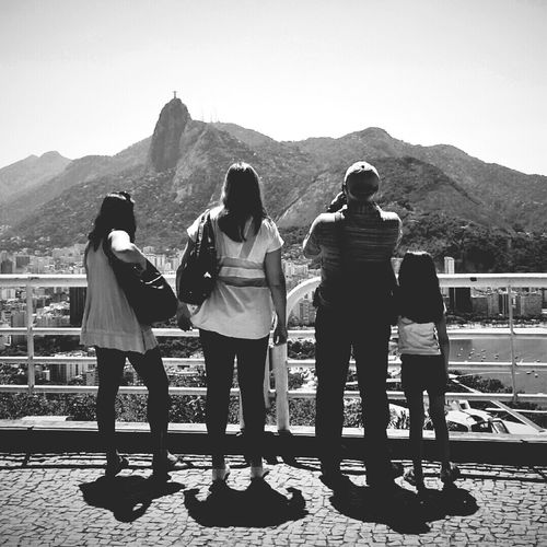 Corcovado view from Sugar Loaf Rio de Janeiro, Brazil ...another Donfilter experience Monochrome Blackandwhite Travel