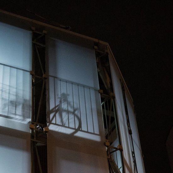 Window Low Angle View No People Sihlouette Bike Bicycle Streetphotography CityWalk City Street Parking Nightphotography Night On The Road at Kichijoji 吉祥寺 , Tokyo Japan