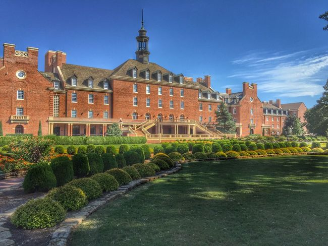 OSU Oklahoma State University  University University Campus Stillwater Oklahoma Cowboys Pokes Thrumylenssphotography Building Exterior Architecture Built Structure Travel Destinations Outdoors Growth History No People Day Green Color Plant Clear Sky Sky Grass Nature