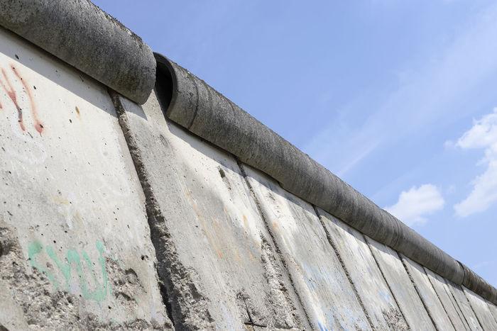 berlin wall Berlin Berlin Wall DDR Grenze Freedom Border Concrete Day Germany Landmark Monument No People Outdoors Sight Sky Symbol