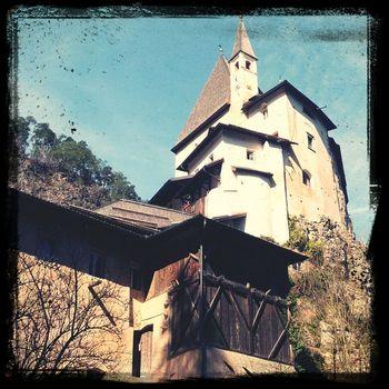 Stamattina bellissima passeggiata per andare a Messa al Santuario...