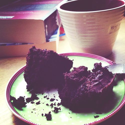 Coffee And Cake Brownie Coffee And Book Vegan Desserts