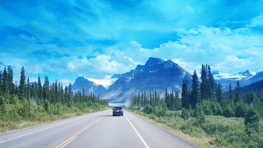 Summer Holidays in Canada Rocky Mountains with Endless Road Drive First Eyeem Photo