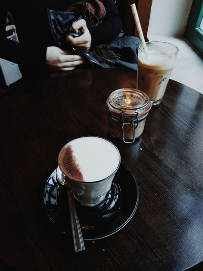 Chai latte with friend
