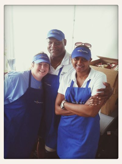 Kim, Donna and Angie volunteering at TPC ...