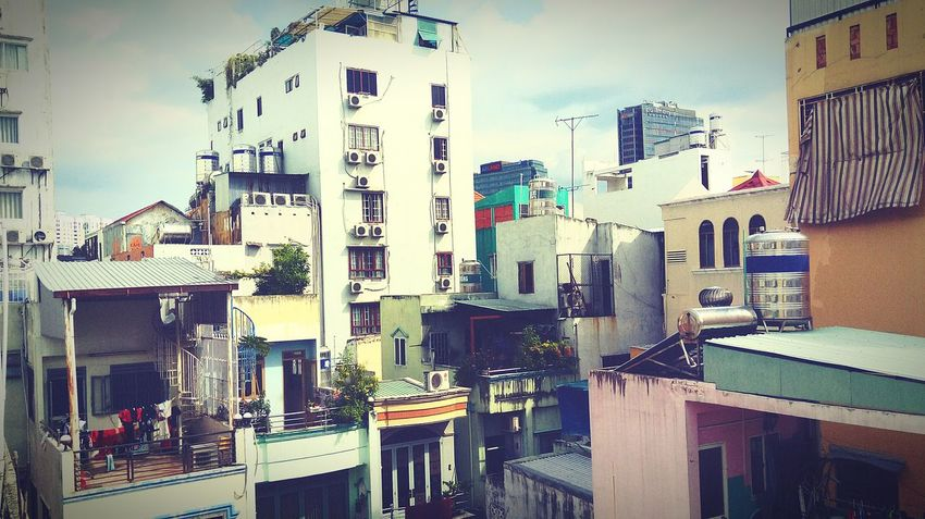View from my tiny balcony . The Secret Spaces Break The Mold Art Is Everywhere TCPM