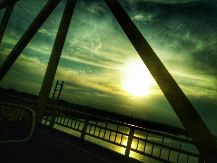 Car EyeEm Selects Sunset Sky Cloud - Sky Dramatic Sky