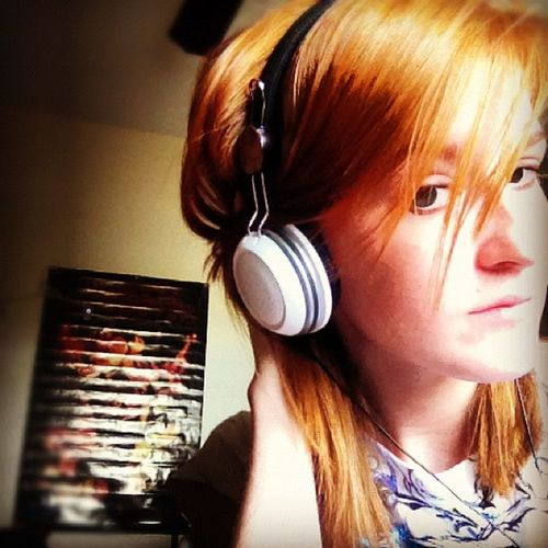 Music A7x Poster Pandoraradio ginger yakpak headphones whitestripe