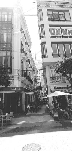 A downtown