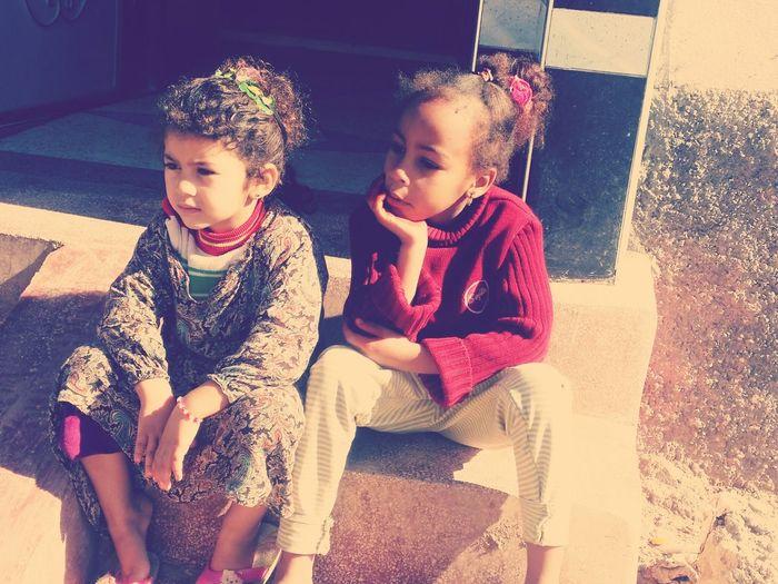 #Girls# Childhood Friendship Girls People First Eyeem Photo