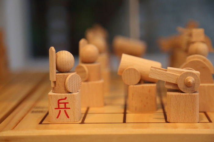 Wood Chess Chessgame Chinese Chinese Chess Chinese Culture Close-up Day Focus On Foreground Indoors  No People Text Wood - Material Wooden Chess Woods