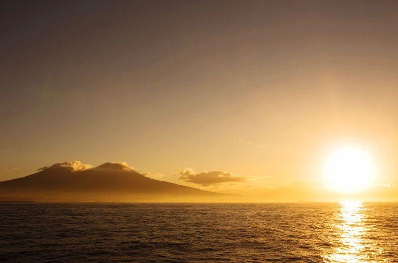 Somewhere, beyond the sea... Capri Italy Sea Sunset