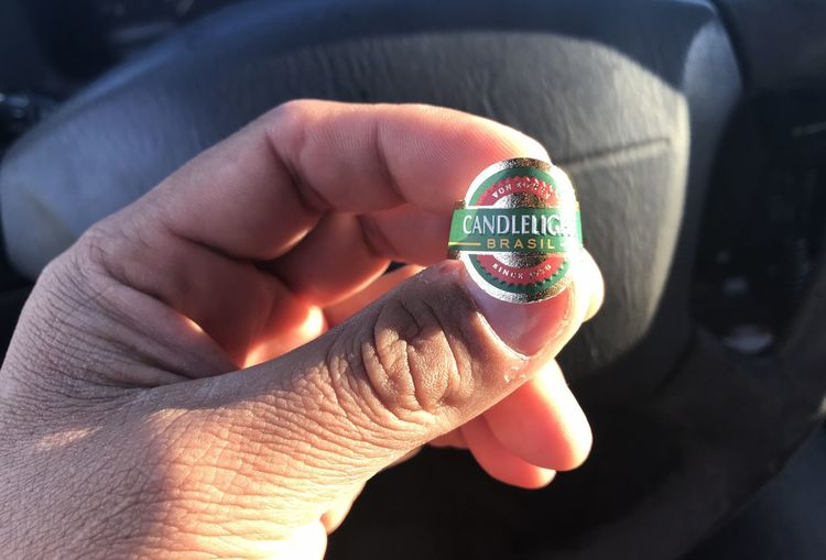 Just tried this brand... It's sweet. Check This Out Adult Cigar Close-up Finger Hand Holding Human Hand Lifestyles Real People Tag Temptation