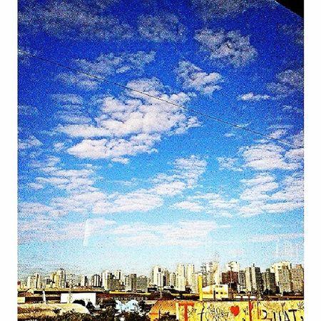 city and sky. São Paulo - Brasil  SAMPAcity