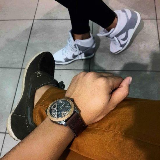 Keep it high... Nike Fossil Pedro Mensfashion mensclothesmenswardrobemenstylehangout weekendsunday