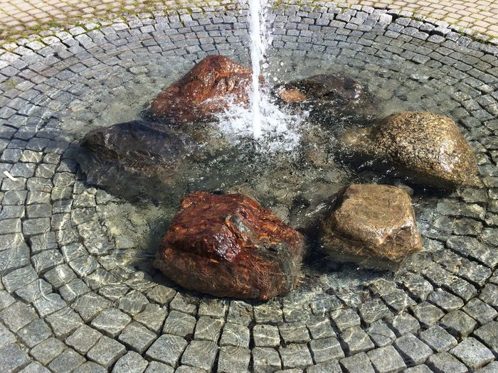 Summertime Water Fountain