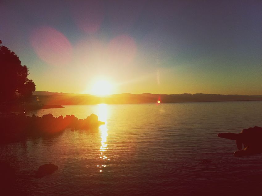 Sunrise Sonnenaufgang Soloppgang Solopgang Auringonnousu Lever De Soleil Alba Sólarupprás Wschódsłońca Soluppgång Gundogumu Güneşışığı Gunes Dogarken Nascer Do Sol Opatija Hrvatska Kroatien Hırvatistan Hrvatska, Meer Deniz Sea