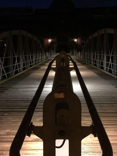 Fischmarkt Architecture Built Structure Illuminated Night Bridge Bridge - Man Made Structure Connection EyeEmNewHere