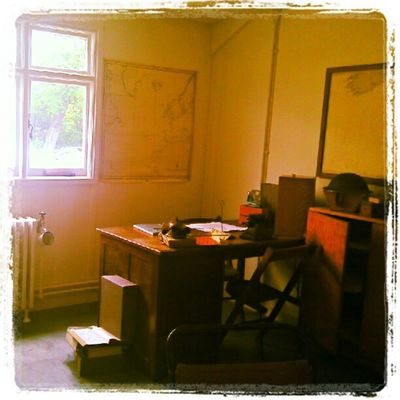 Turing's office