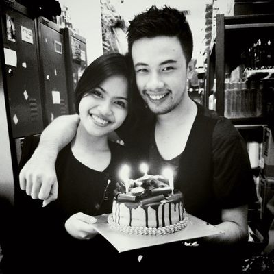 my last bday.. with serpha from PS
