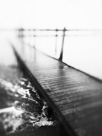 Wood - Material Railing No People Water Day Outdoors Close-up Sea Nature Sky Dock GrungeStyle EyeEm Selects Backgrounds EyeEm Gallery EyeEm Nature Lover Focus On Foreground Waves Crashing Beauty In Nature EyeEm Best Shots Summer Waterfront